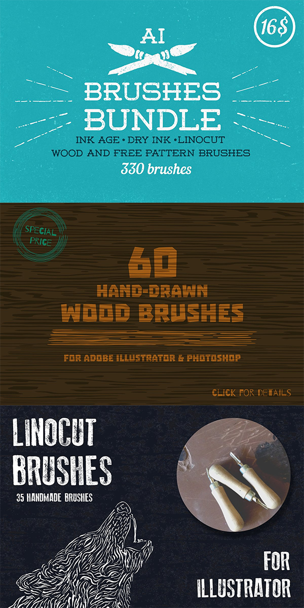 Brushes Bundle by Guerillacraft