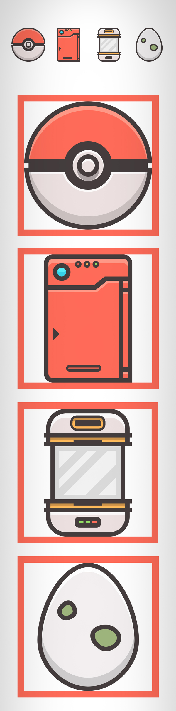 How to Create a Pokemon Themed Icon Pack in Adobe Illustrator