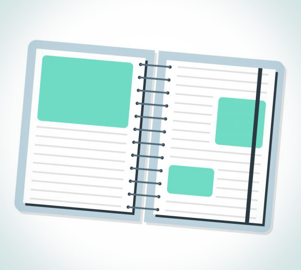 How to Create a Cute Simple Notebook Icon in Adobe Illustrator