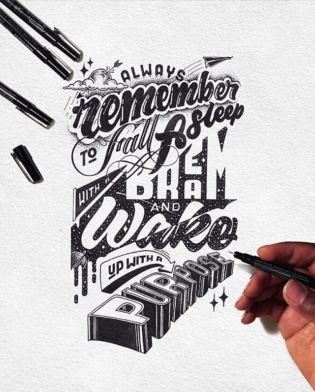 Handmade Lettering and Typography Designs - 12