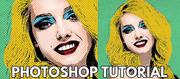 How to Create Pop Art Portrait Photoshop Tutorial