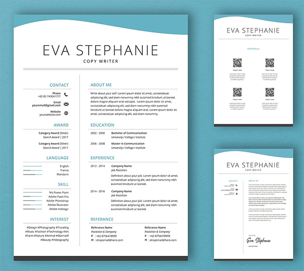Creative and Awesome Resume Template