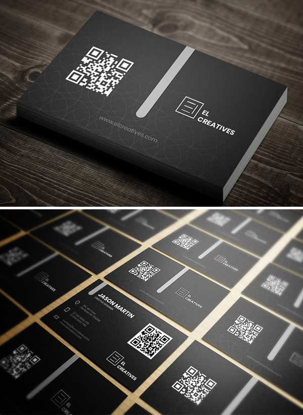 Perfect Creative Dark Business Card