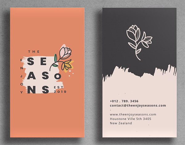 Business Card Design Professional