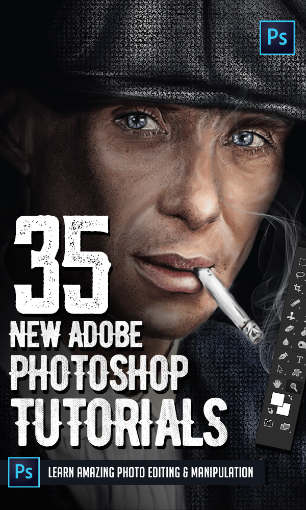 Photoshop Tutorials: 35 New Tutorials to Learn Exciting Manipulation Tricks