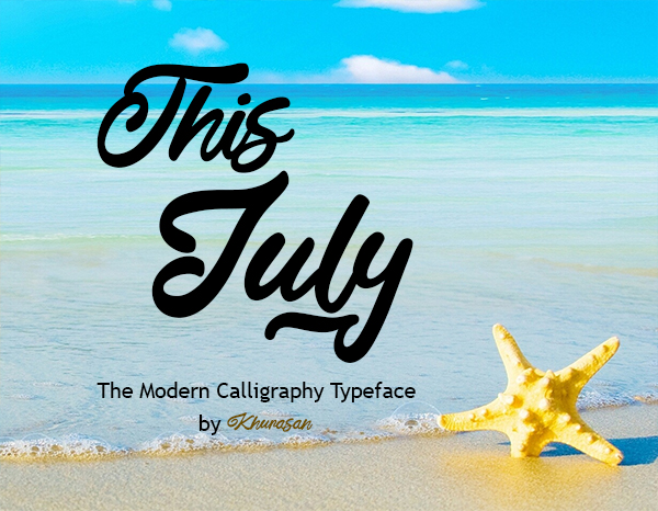 This July Free Font