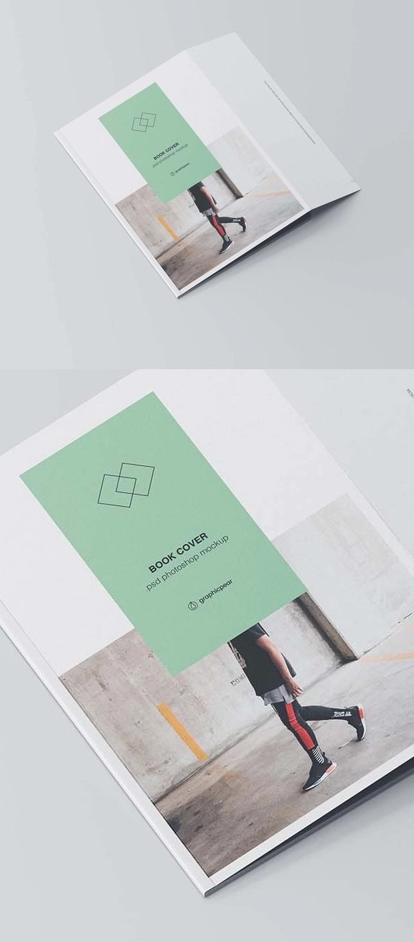 Free Book Cover Mockup Freebie