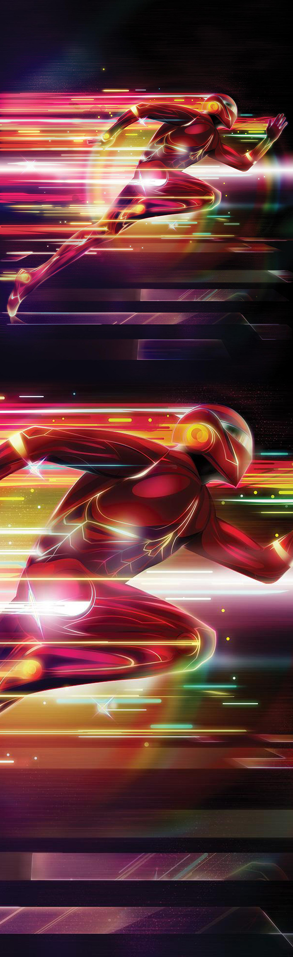 How to Create a Flash Superhero in Photoshop Tutorial