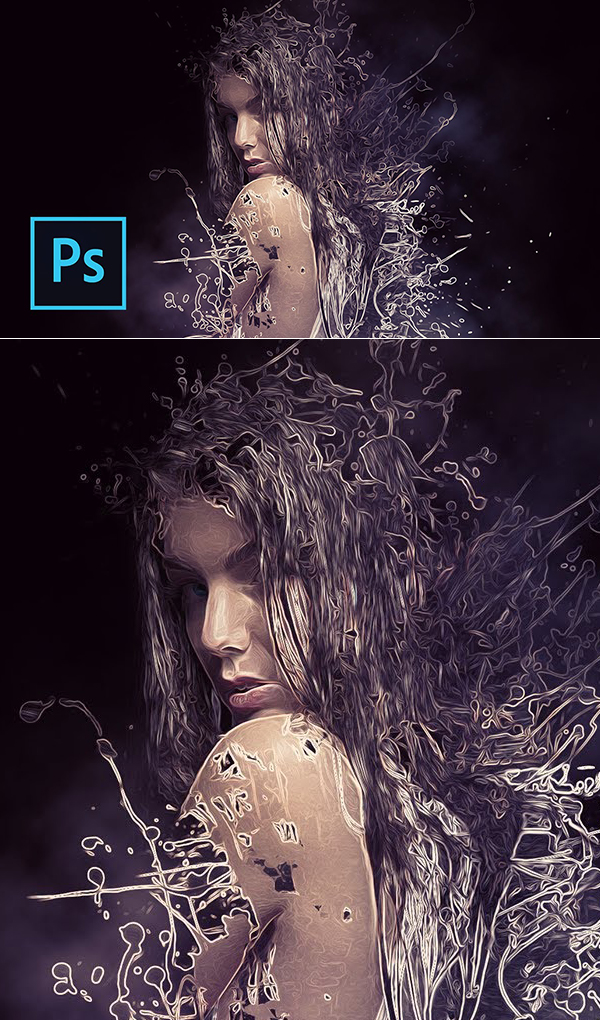 Learn How to Create Powerful Fracture Effect using Photoshop Tutorial
