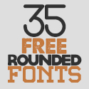 Post Thumbnail of 35 Best Free Rounded Fonts for Graphic Designers