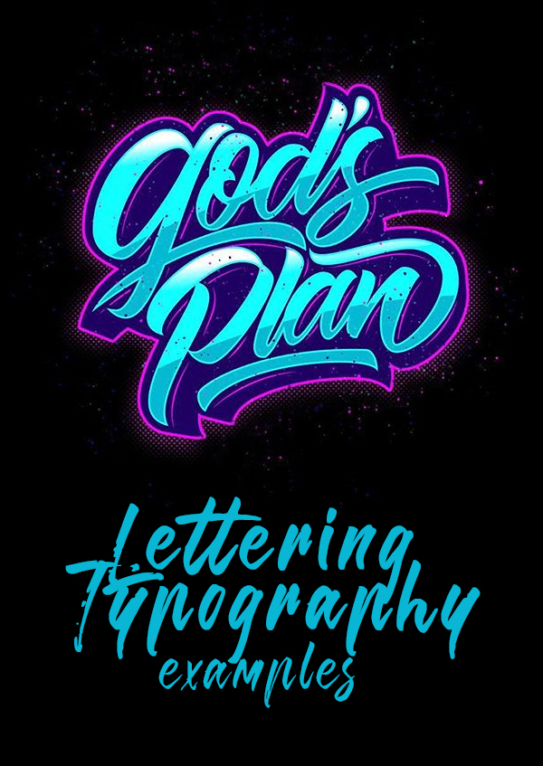 40 Remarkable Lettering and Typography Designs for Inspiration