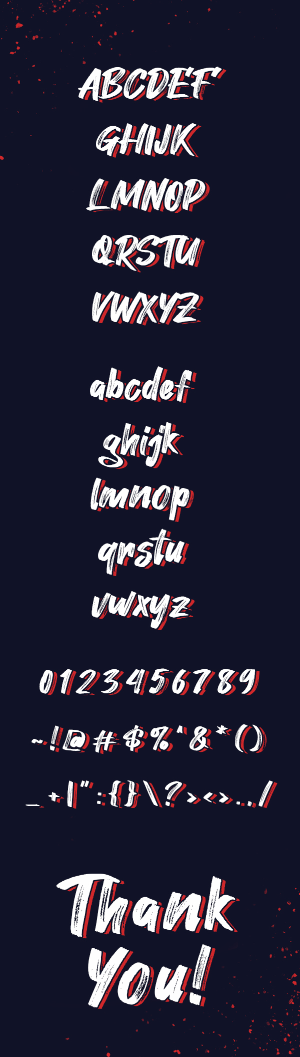 Hey August Free font letters