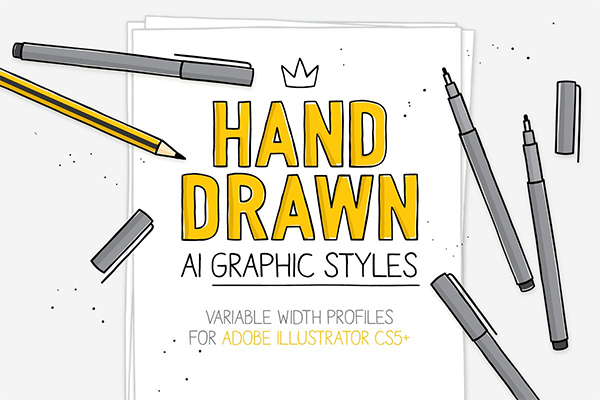 AI Hand Drawn Styles And Brushes