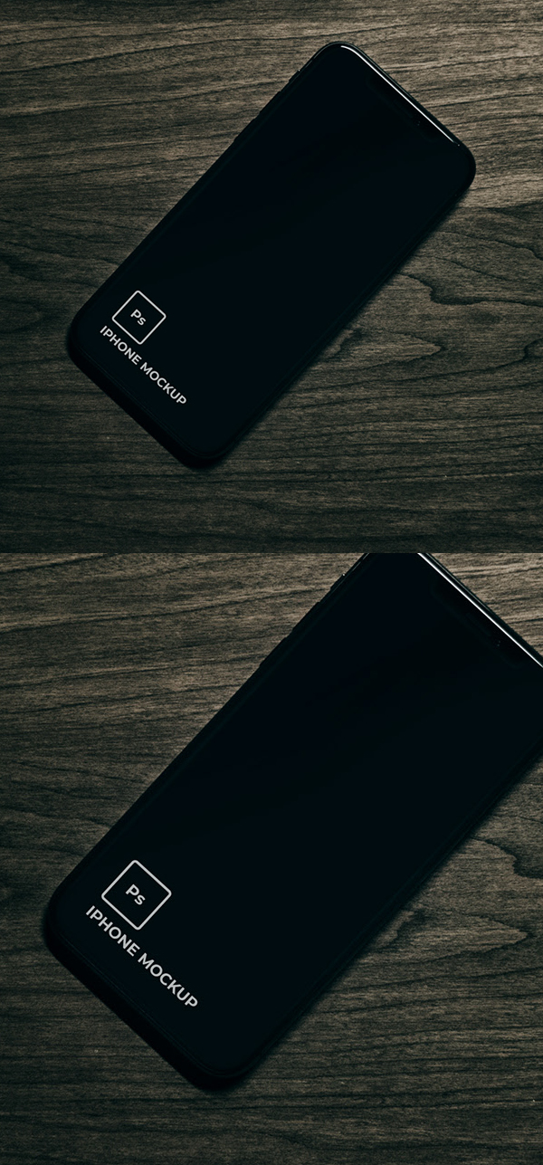 Free Minimal iPhone 11 Black Mockup