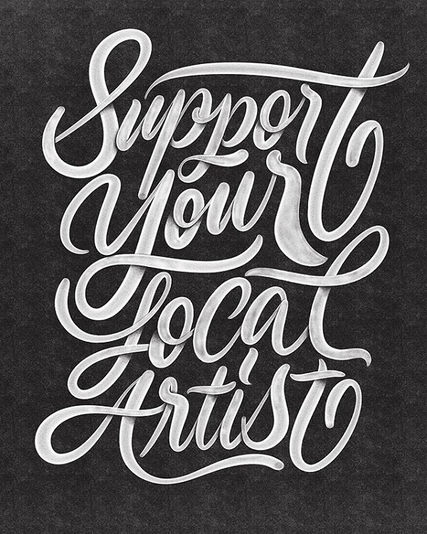 45 Remarkable Lettering and Typography Designs for Inspiration - 15