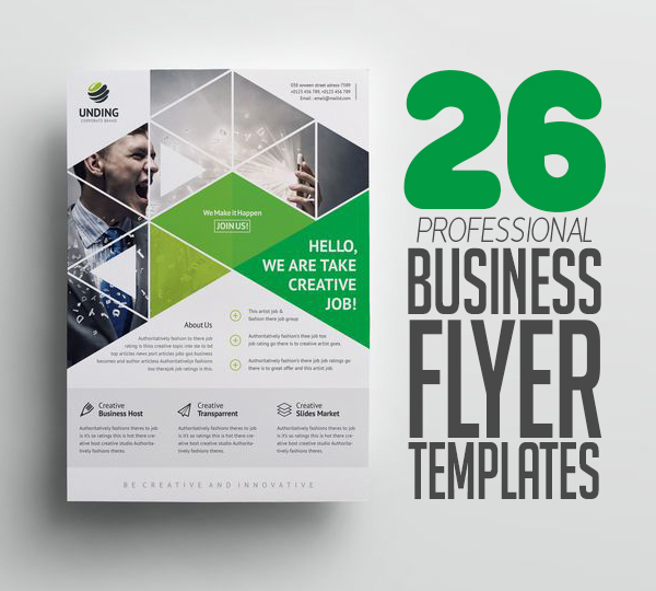 Flyer Templates: 26 Professional Business Flyer Templates