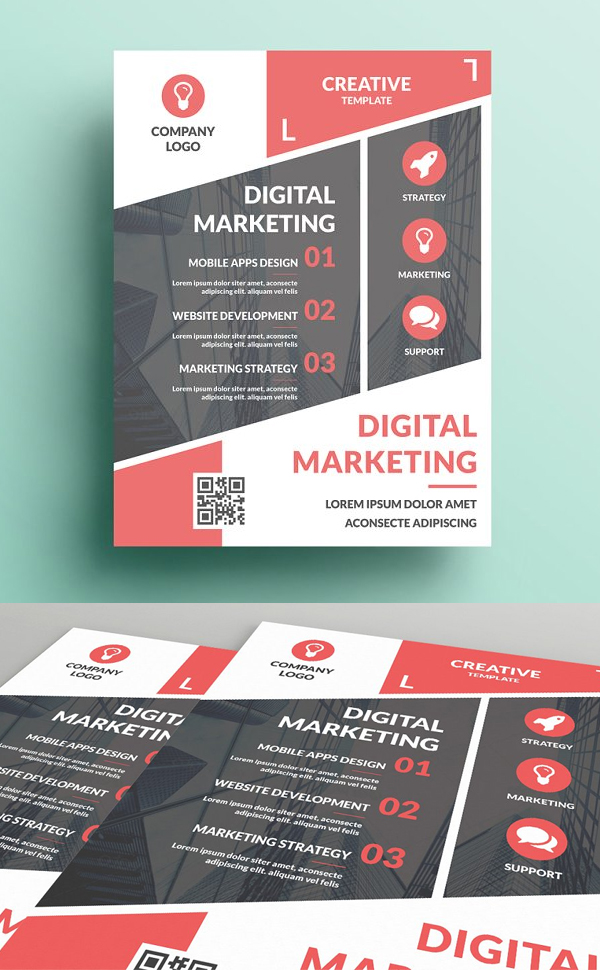 Business Promotion Flyer