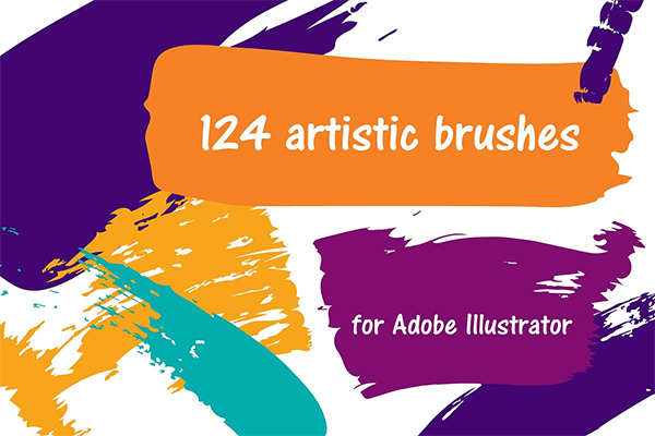 124 Vector Brushes