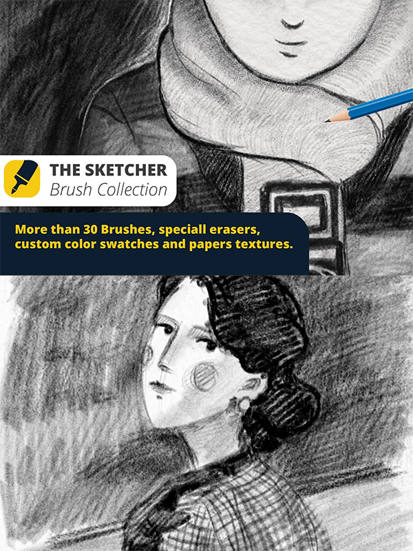 The Sketcher Collection Brushes