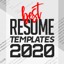 Post thumbnail of 30 Best CV / Resume Templates for 2020