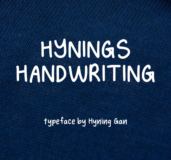 Hynings Handwriting Free Font