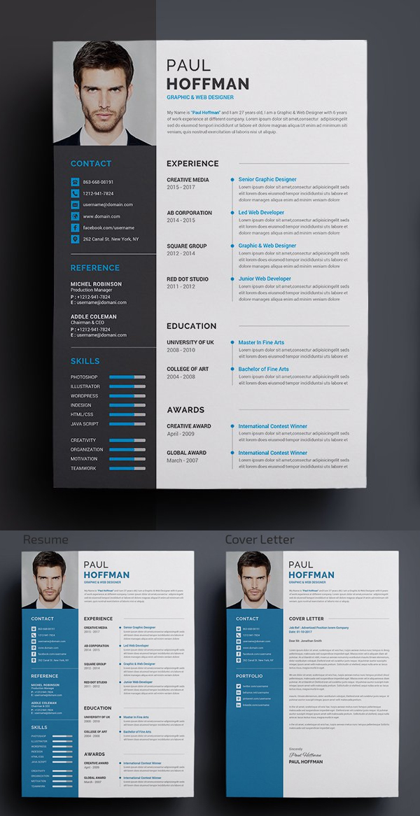 Best Resume Templates For 2020 Design Graphic Design