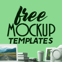 Post thumbnail of Free PSD Mockups: 36 Fresh Free Mockup Templates