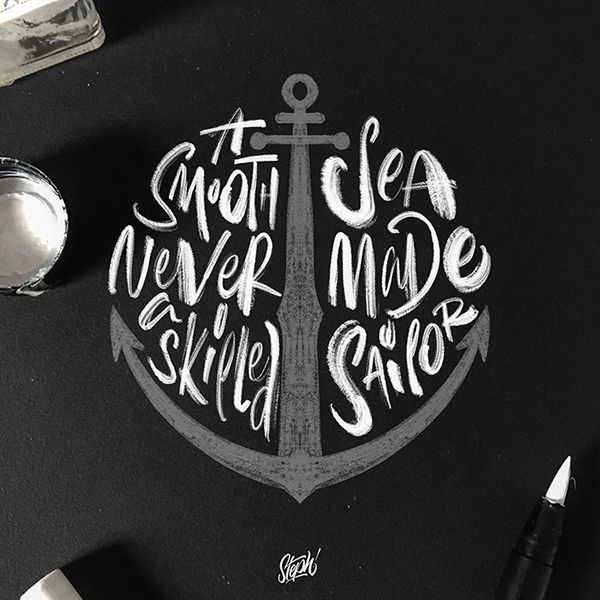 Remarkable Lettering and Typography Designs for Inspiration - 32