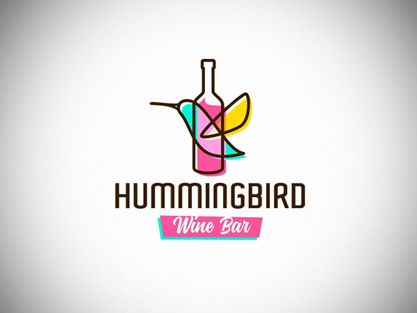 Hummingbird Logo Design