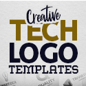 Post Thumbnail of 25 Creative Tech Logo Templates