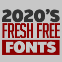 Post thumbnail of 25 Fresh Free Fonts for Graphic Designers