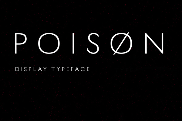Poison Free Font