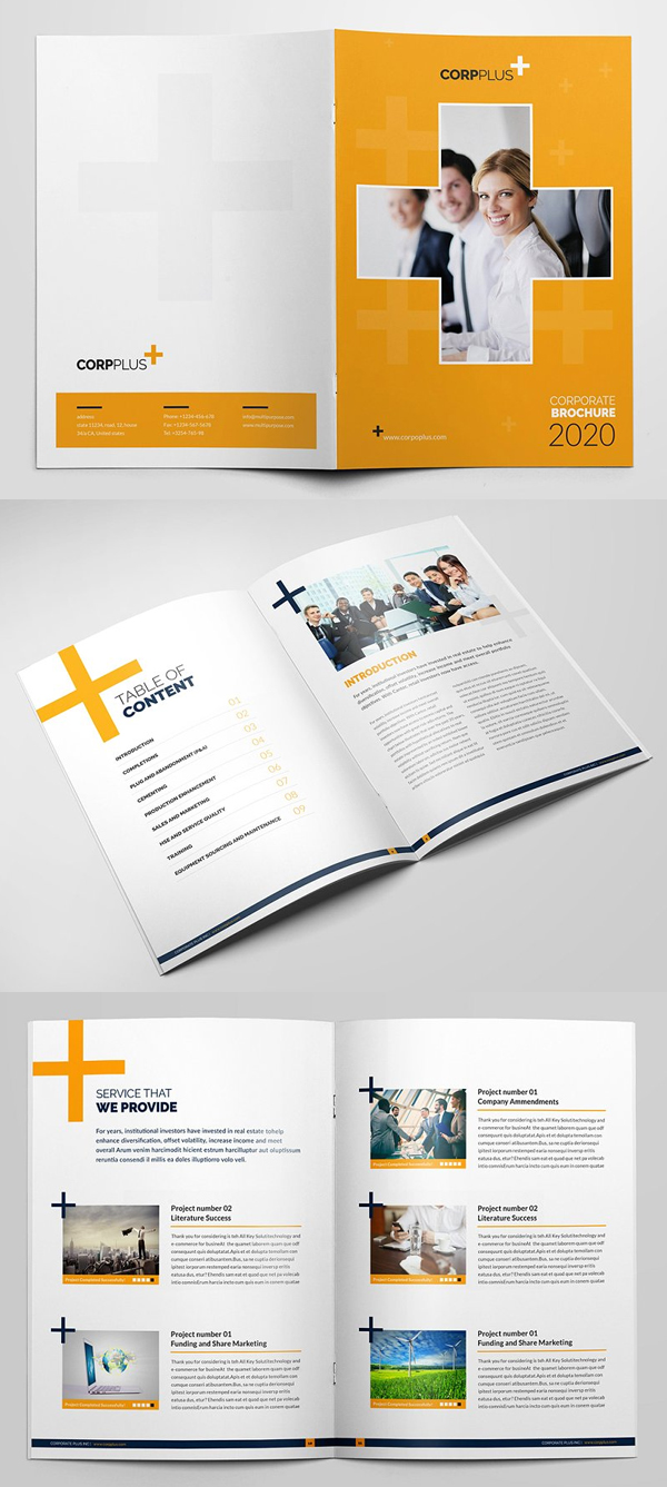 Awesome Multipurpose Brochure Template