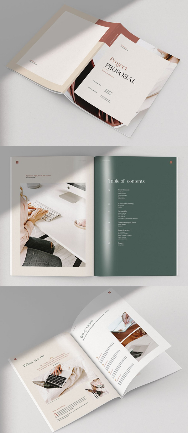 Lighthouse - Project Proposal Brochure Template