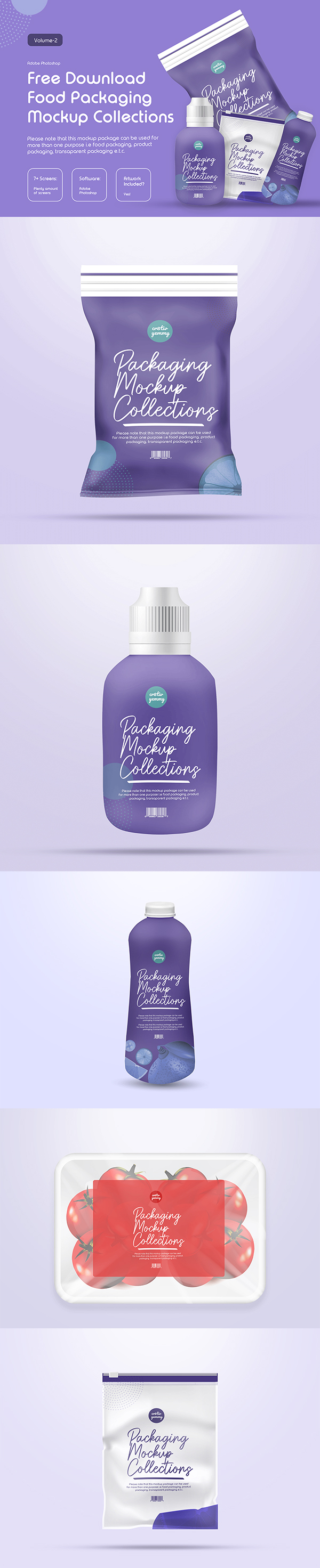 Free Packaging Mockup Templates