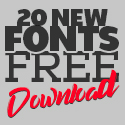 Post Thumbnail of 20 New Fonts Free for Graphic Designers