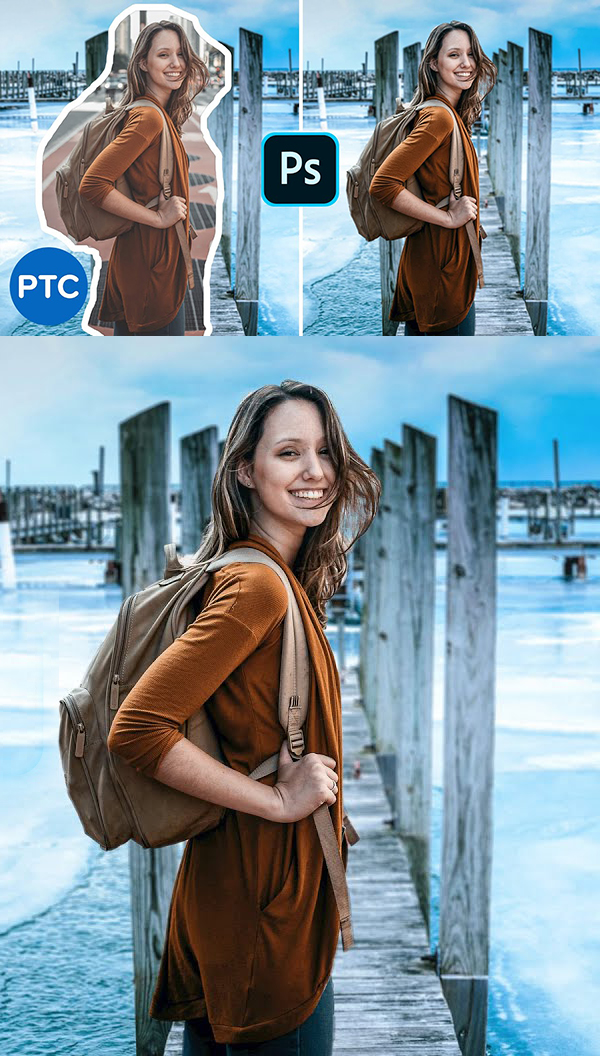 How To Match a Subject Into ANY Background In Photoshop