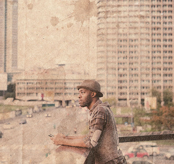 How to Make a Distressed Effect Photoshop Action in Photoshop Tutorial