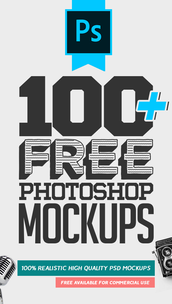 100+ Best MockUps PSD Templates