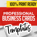 Post thumbnail of New Professional Business Cards – 25 Print Ready Templates