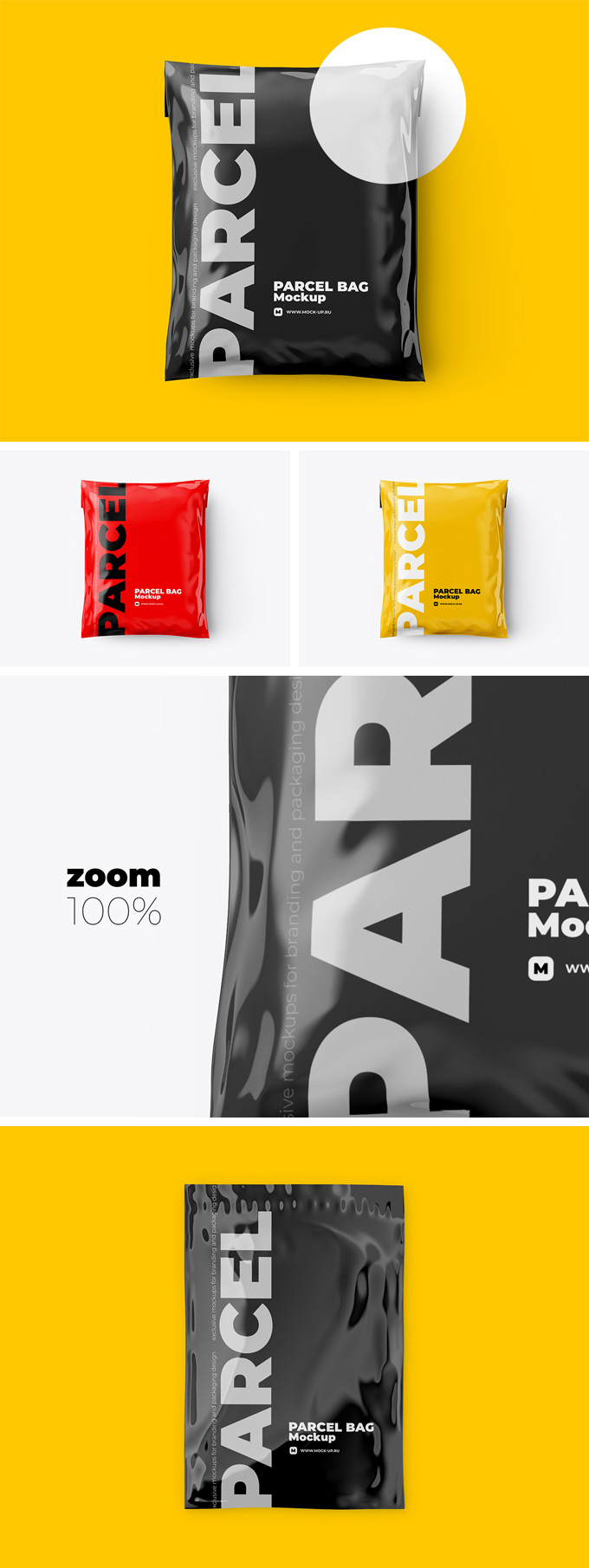 Freebie: Shipping Bag Mockup