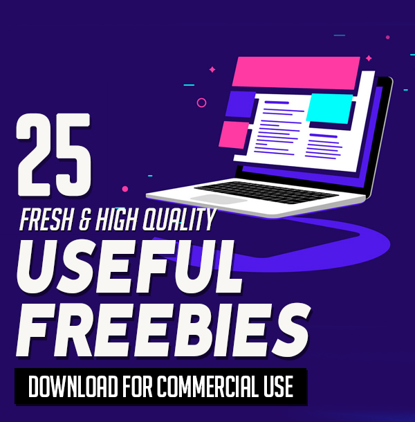 25 Fresh Freebies for Web & Graphic Designers