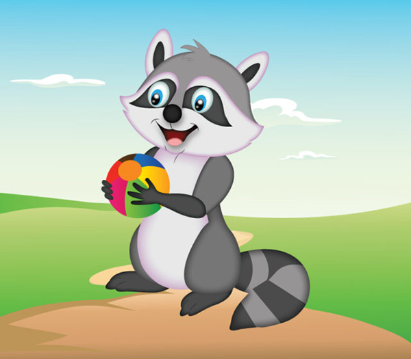 Learn How to Create a Happy Raccoon Character in Adobe Illustrator