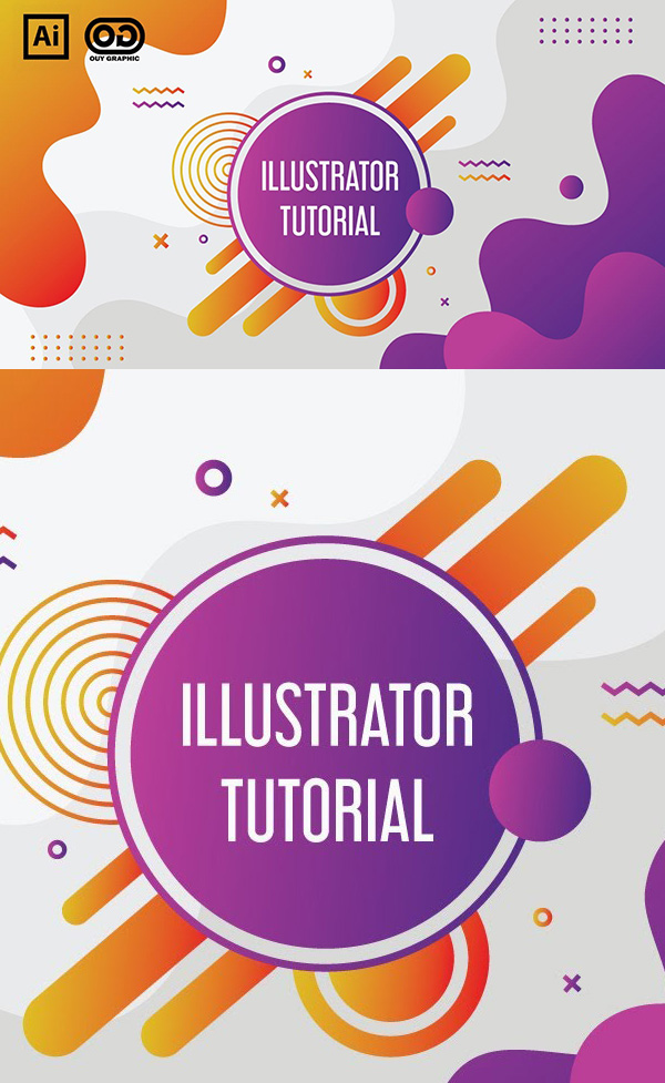 Create Colorful Shapes Background In Adobe Illustrator