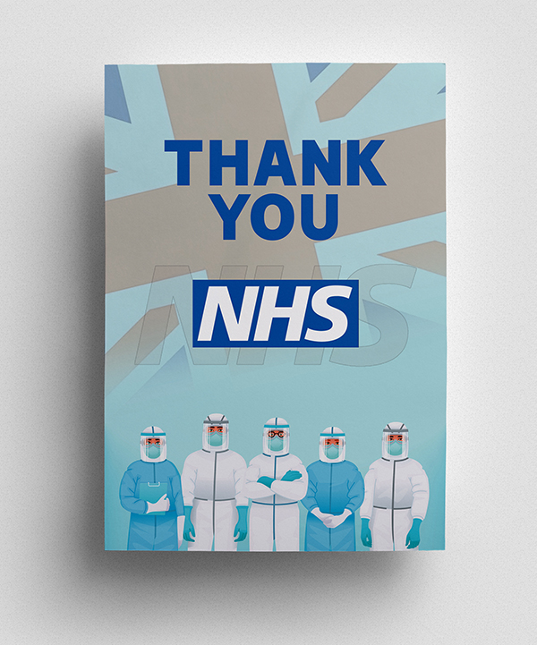 Thank you to NHS Poster - 1