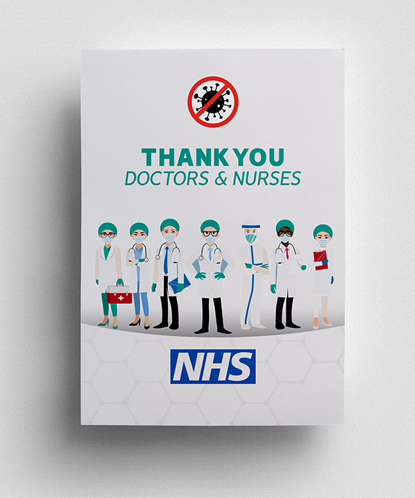Thank you to NHS Poster - 8
