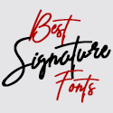 Post thumbnail of 35+ Best Signature Fonts for Graphic Designers