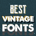 Post thumbnail of 25 Best Vintage Fonts for Graphic Designers