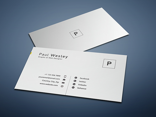 Free Resume Template & Cover Letter (PSD) + Business Card - 5
