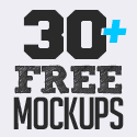 Post Thumbnail of Free PSD Mockups: 30+ Fresh MockUps Templates